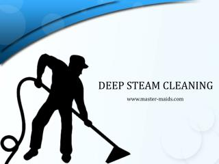 Deep Steam Cleaning Dubai