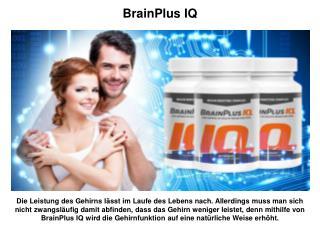 Welche Vorteile bringt BrainPlus IQ mit?