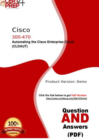 300-470 Cisco Test PDF Material