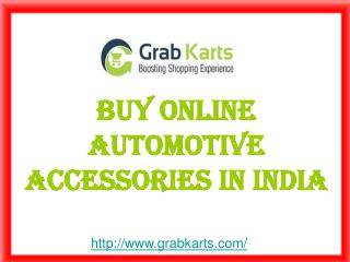 Buy Online Automotive Accessories In India