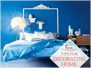Tips for Decorating Home