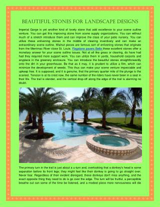 Beautiful Stones For Landscape Designs.pdf