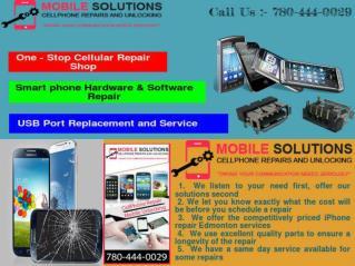 Edmonton Cell Phone Repair |Unlock I phone