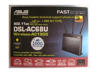 Asus modem technical support 1 888 467 5549 phone number