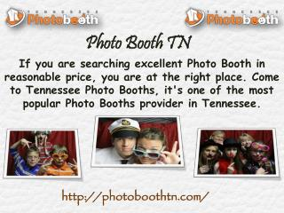 Quality Photo Booth in TN - Tennessee Photo Booths