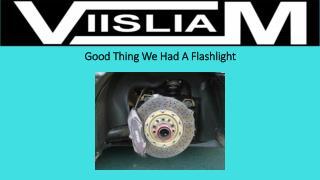 Good Thing We Had A Flashlight