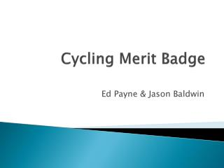 Cycling Merit Badge