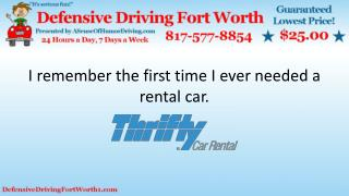 Car Rental Travel Tips
