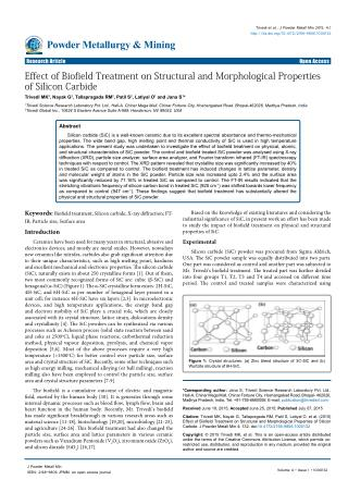 effect-of-biofield-treatment-on-structural-and-morphological-properties-of-silicon-carbide