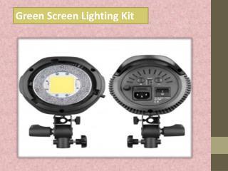 Green Screen Lighting Kit