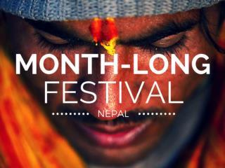 Nepal's month-long festival