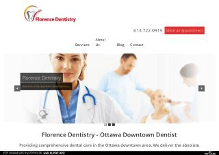 Professional Ottawa Downtown Dentist - Florence Dentistry