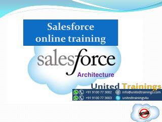 Salesforce Online Training | Salesforce CRM online training | United Trainings