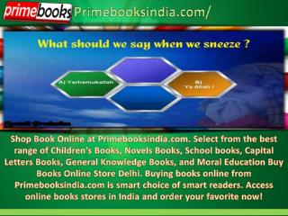 Buy Books Online Store Delhi with Prime Books india