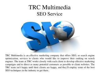 TRC Multimedia SEO Service