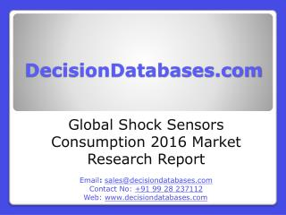 Shock Sensors Consumption Market Analysis and Forecasts 2021