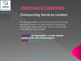 Outsourcing Services London