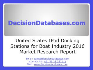 IPod Docking Stations for Boat Market Analysis 2016 Development Trends