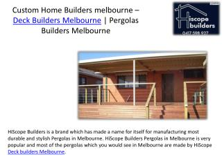 Edit Privacy Settings Analytics FREE Collect Leads Custom home builders melbourne deck builders melbourne pergolas build