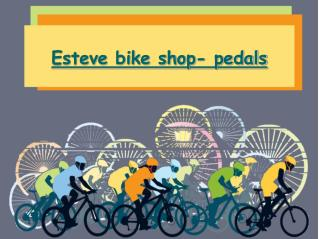 Esteve bike shop- pedals
