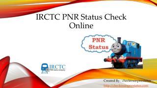 railways pnr status check online