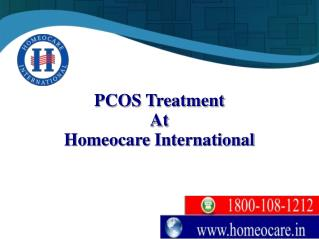 Free yourself from PCOS harmful Disorders with Homeopathy