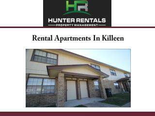 Rental Apartments In Killeen