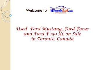 Used Ford Focus on Sale in Toronto