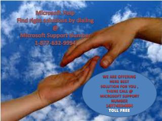 Microsoft Support easily call 1-877-632-9994 tollfree