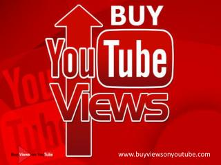 Why I Should Buy YouTube Views?