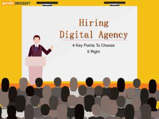 4 Points To Help You Choose Right Digital Agency