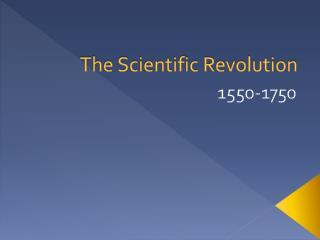 Mayer -World History - Scientific Revolution