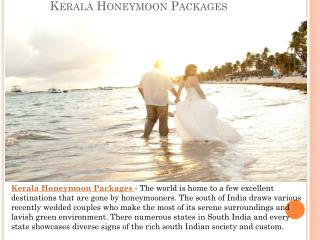 Kerala Honeymoon Packages - Ideas to Make it Memorable