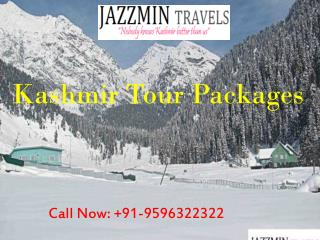 Kashmir Tour Packages-Jazzmin Travel