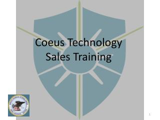Coeus Technology Sales Training