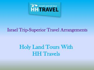 Holy Land Tours-HH Travels
