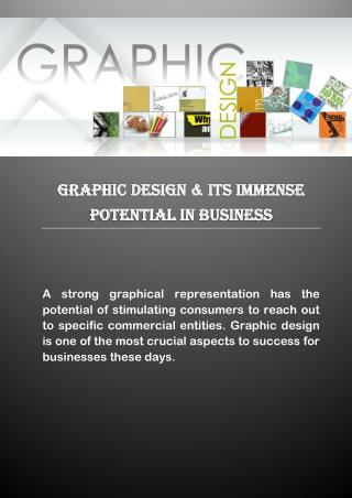 Graphic Design & Its Immense Potential in Business