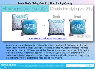 Buy Top Quality Outdoor Cushion In Gold Coast At Economical Prices