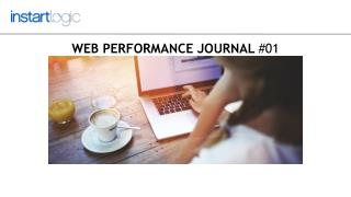 Web Performance Journal #01