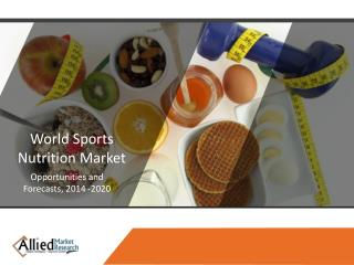 Sports Nutrition Market Size, Growth & Industry Trends 2020