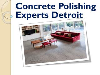Concrete Polishing Experts Detroit