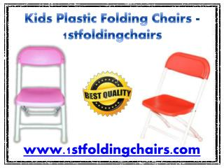 Kids Plastic Folding Chairs - 1stfoldingchairs