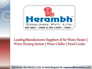 Water Heating System Manufacturers