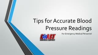 Tips for Accurate Blood Pressure Readings