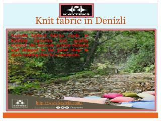 Fabric Knits in Denizli