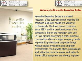 Office Searvice | Knoxville Executive Suites