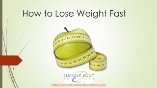 Rapid Medical Weight Loss Treatment