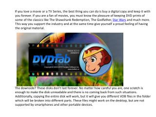 DVDFab Review-Rip and Copy DVDs in Windows 10 Easily