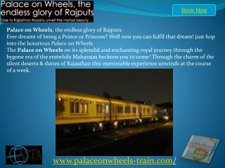Palace on wheels Train Itinerary