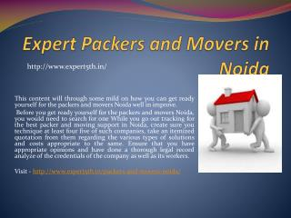 Expert5th.in- A hub of reliable packers and movers in Noida